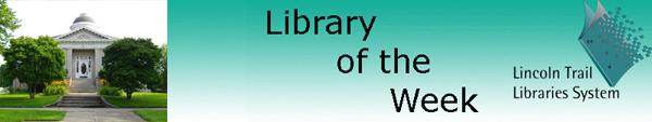 Libraryoftheweekbanneraan