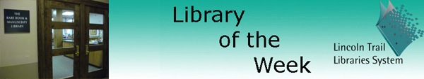 Libraryoftheweekbannerrarebook